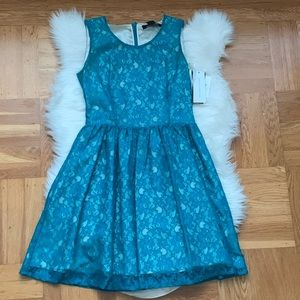 NWT Teal French Connection Dress